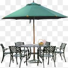 Outdoor Furniture Design Clipart Great Parasol PNG Image And