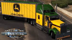 American Truck Simulator: John Deere W900 And Matching Trailer - YouTube Tomy John Deere Carstrucks Plastic Ace Hdware 150th High Detail 460e Adt Articulated Dump Truck Toys Diecast With Skidsteer At Toystop Antique Tractor On Transport Flatbed Truck Florida Stock New Eseries Features North Americas Largest Ertl 118 Tractor Dodge 2500 V10 Dealer Pickup Farm Shop Ertl Gator Mega Hauling Set Free Shipping Salo Finland March 4 2016 Volvo Hauls W330 1955 Ford F100 Louisville Showroom Bangshiftcom Brian Lohnes Weve Found Your Perfect Peterbilt Rolloff 4020