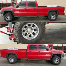 100 Helo Truck Wheels 2001 GMC Sierra 2500HD With 16x10 Maxx 8