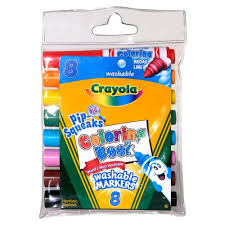 Crayola Pip Squeaks Washable Markers 8 Pack