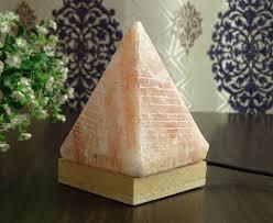table ls natural usb salt l himalayan crystal rock pyramid