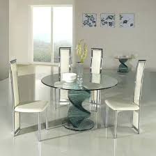 Round Table And 4 Chairs For Sale Small Glass Dining Brilliant With Metal Legs Ideas Home Inside 5