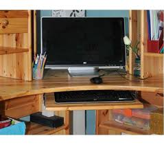 plateau de bureau d angle plateau de bureau d angle en pin laqu posot class avec bureau d