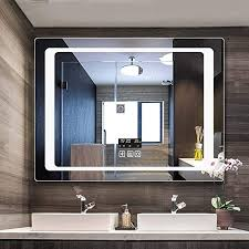 mirror led lichtspiegel badezimmerspiegel smart spiegel