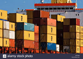 100 Shipping Container Shipping Industry S Stacked High On The