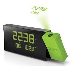 reveil heure au plafond oregon scientific rrm222p vert radio radio réveil oregon