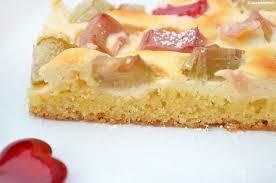 rhabarber quark kuchen für lilaplaetzchen
