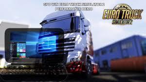 GPD Win - Euro Truck Simulator 2 Performance Demo - YouTube
