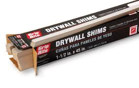 Ceiling Joist Span For Drywall by Drywall Shims What They Are And How To Use Them