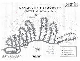 100 Cabins At Mazama Village Campground Map And Regulations