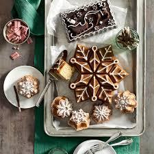 Nordic Ware Pumpkin Loaf Pan Recipe by Nordicware Snowflake Pull Apart Cake Pan Makes A Cake That Has