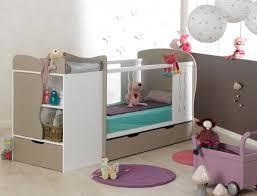 chambre bébé modulable lit combiné évolutif bébé belem blanc chambrekids