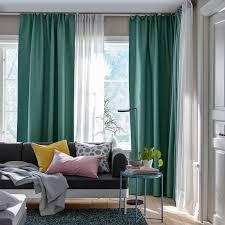 vilborg 2 gardinenschals abdunk grün 145x300 cm