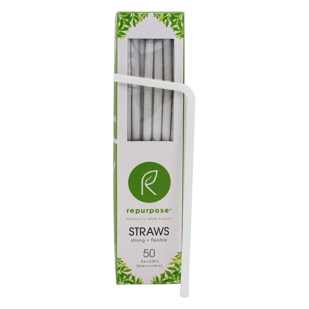 Repurpose Compostable Straws - 50pcs