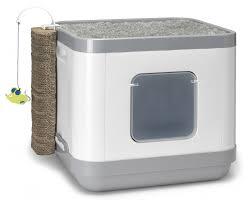 maison de toilette chat le cube animaloo