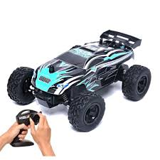 100 Radio For Trucks RC Truck 124 Scale 15kmh Controlled Electric Vehicle