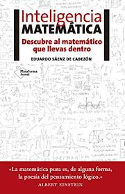 Inteligencia Matematica Spanish Edition By Saenz De Cabezon Eduardo