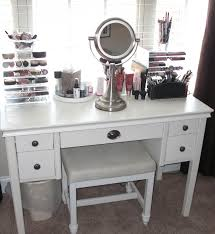 Bathroom Makeup Vanity Lights by Bedrooms Exciting Makeup Table With Lighted Mirror And Bathroom