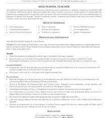 Resume Templates Free High School Student Objective Examples For Template Design Example Sample Teacher With E