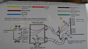 Hunter Ceiling Fan Wiring Diagram by Wiring Diagrams For A Ceiling Fan And Light Kit U2013 Do It Yourself
