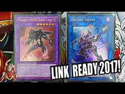 yugioh best masked hero deck profile link format ready protect