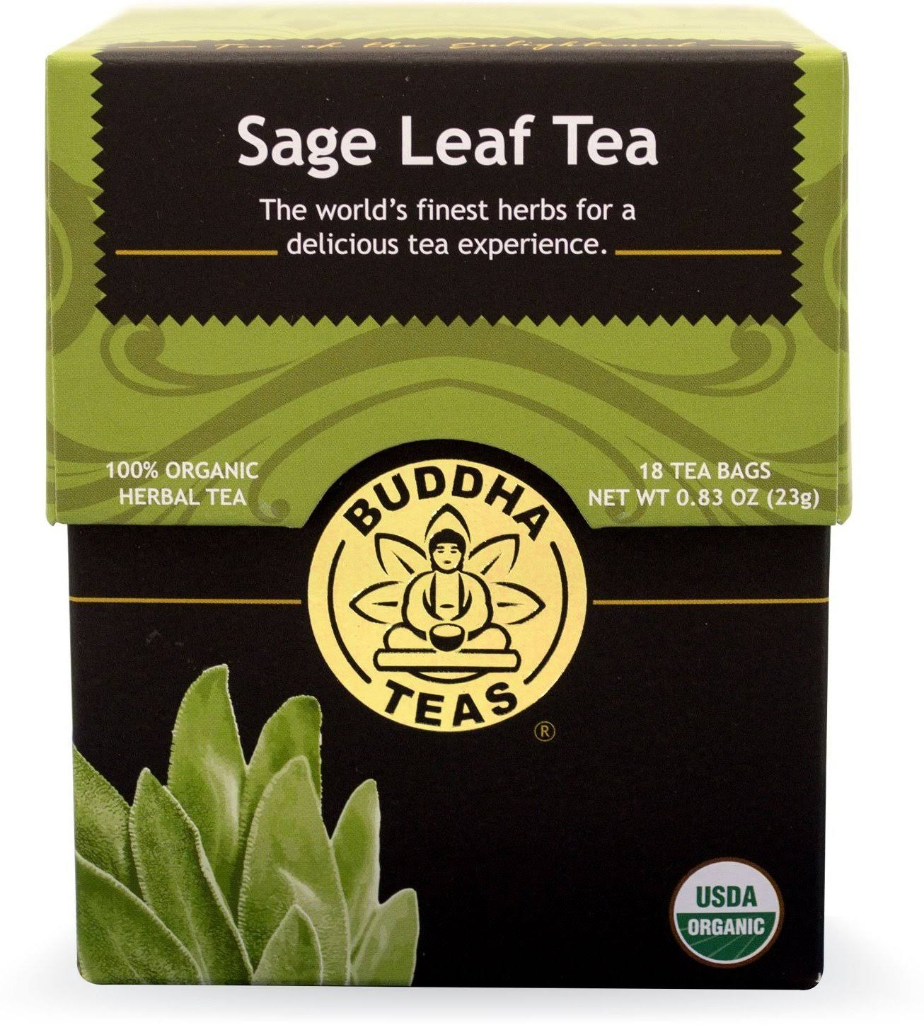 Buddha Teas Sage Leaf Tea - 18ct