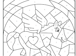 Number Coloring Pages Preschool
