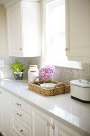 Tile Backsplash Ideas With White Cabinets by Kitchen Backsplash Extraordinary Gray Countertops With White