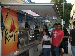 Kogi Korean BBQ - Wikipedia Food Truck 2dineout The Luxury Food Magazine 10 Things You Didnt Know About Semitrucks Baked Best Truck Name Around Album On Imgur Yyum Top Trucks In City On The Fourth Floor Hoffmans Ice Cream New Jersey Cakes Novelties Parties Wikipedia Your Favorite Jacksonville Trucks Finder Pig Pinterest And How To Start A Business Welcome La Poutine