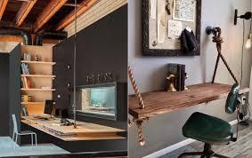 les de bureaux 26 idées de bureaux suspendus le meuble très pratique pour les