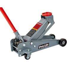 pro lift g 2489 grey hydraulic garage jack 2 1 2 ton capacity