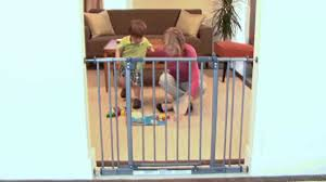 Summer Infant Decor Extra Tall Gate Instructions by North States Easy Close Gate Youtube