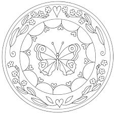 Mandala Ausmalbilder Für Kinder Mandala Coloring Art