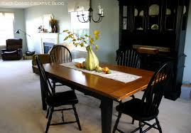 Refinished Dining Room Table Furniture Makeover East Coast With Regard To The Amazing