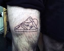 Small Tattoo Ideas Men Mountains
