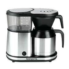 5 Cup Coffee Maker With Thermal Carafe Rival