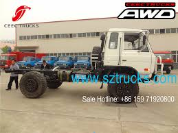 100 All Wheel Drive Trucks Manufacturer Supply DFAC Brand 4x4 Wheeldrive Chassis Factory