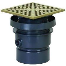 Sioux Chief Floor Drain Replacement Strainer by Sioux Chief Floor Drain Heavy Duty Nickel 4