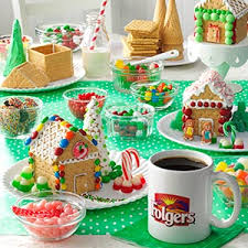 Before Guests Arrive Set Out Individual Gingerbread Houses For Each Person Attending Make Them From Scratch Take A Shortcut With Kit Or Use Graham