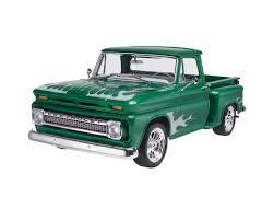 100 1965 Chevy Stepside Truck Revell 125 65 Pickup 2n1 RMX857210 Toys