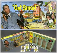 1960s Vintage GET SMART Exploding Time Bomb Board Game Box Parts Ideal 1965