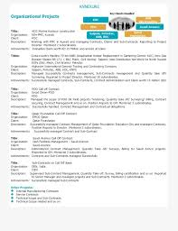 Project Manager CV Template Construction Management Jobs Architecture And Resume Samples