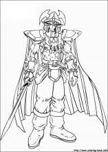 Yu Gi Oh Coloring Pages On Book