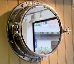 chadder co unique porthole mirror cabinet luxury porthole