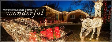 Twinkling Christmas Tree Lights Canada by Christmas Decorations