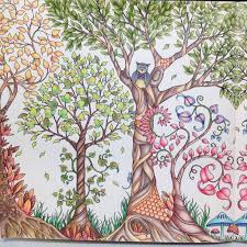Inspirational Coloring Pages From Secret Garden Enchanted Forest And Other Books For Grown Ups Paginas Inspiradoras Dos Livros Jardim Se