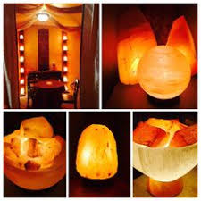 Earthbound Salt Crystal Lamps by Himalayan Salt Crystal Fire Bowl Lamp W 5 Energy Spheres Medium
