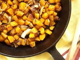 Butternut Squash Home Fries Connoisseurus Veg