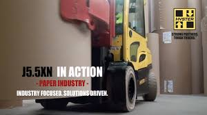 100 Trucks Paper Hyster Forklift Industry Smurfit Kappa YouTube