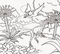 Dilophosaurus Exceptional Artwork Realistic Dinosaurs Pictures Super Hard Coloring Pages For Adults